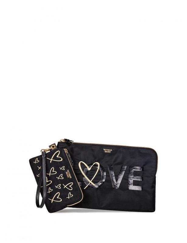 Clutch love edition Black gold 06e9e94eb12